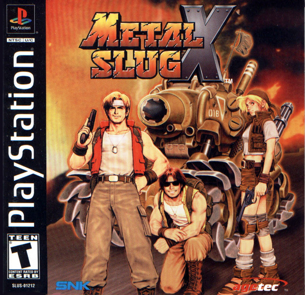 Metal Slug X [NTSC-U] Front Cover